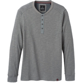 Prana Ronnie Henley Knit Jersey Men shark